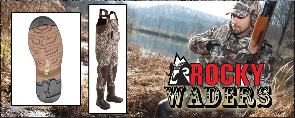 ROCKY BOOTS WADERS